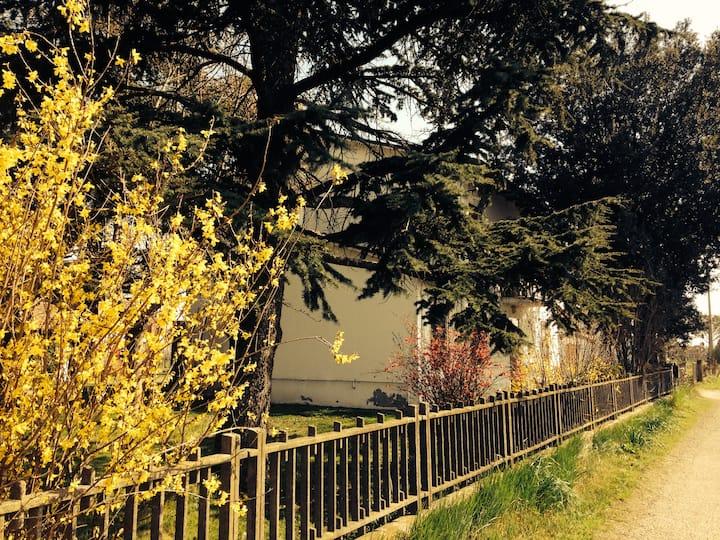 casolare tra Bologna e Ravenna