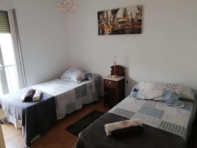 Dormitorio 2 , camas 0,90