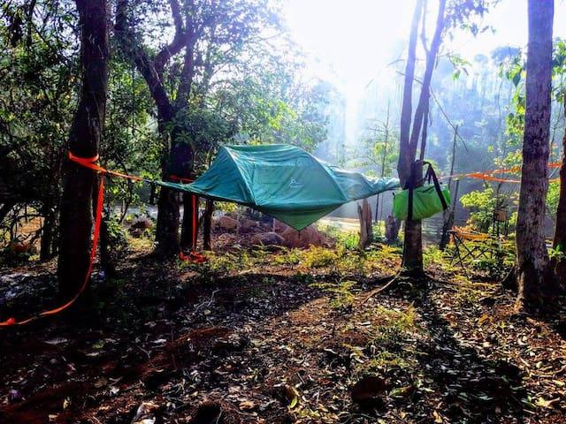 Sky Tent @Aclat Meadows - Karnataka - Namiot