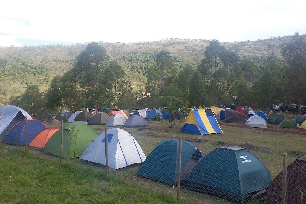 área do Camping