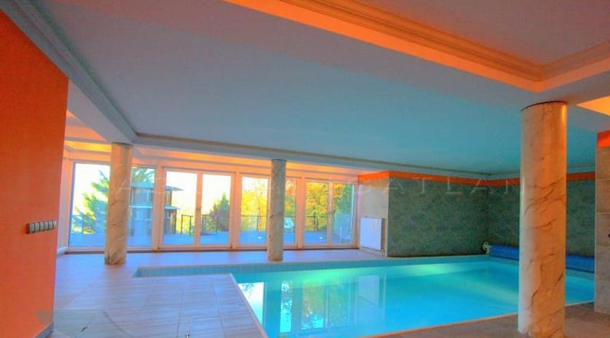 Villa Albert luxury with pool,5 min. city center - Budapeste - Casa