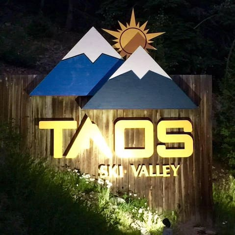 Ski or Snowboard @ Taos Ski Valley & stay here.