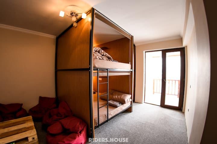Капсульные Апартаменты в Новом Гудаури (8 человек)