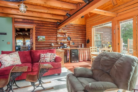 Luxury Log Cabin near Hood River - Mt. Hood - Parkdale - 独立屋