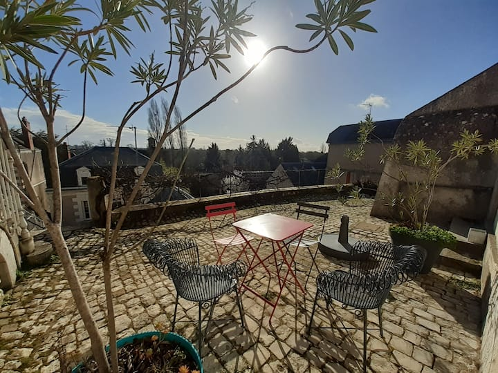 Appartement avec terrasse et vue sur Tours