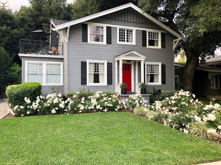 Charming Designer Home in South Pasadena near DTLA