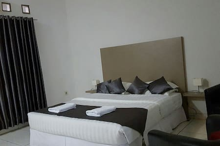 Double Bedroom at Bojongherang Guesthouse - Kecamatan Cianjur