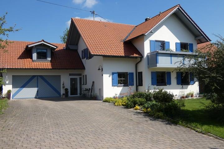 Ruhiges Loft Ferienwohnung Landhaus Krumm