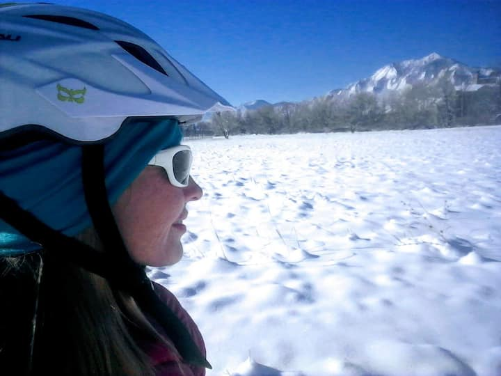 Boulder's winter wonderland