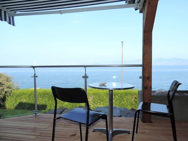 Genfersee mit Sauna und Klavier - Meillerie - Huis