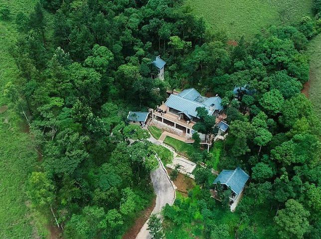 Tanarya homestay on the Chickmagalaur mountains.