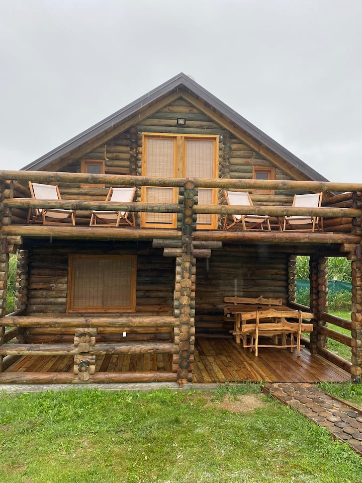 seosko domacinstvo rodjak sa sela brvnara Dragce