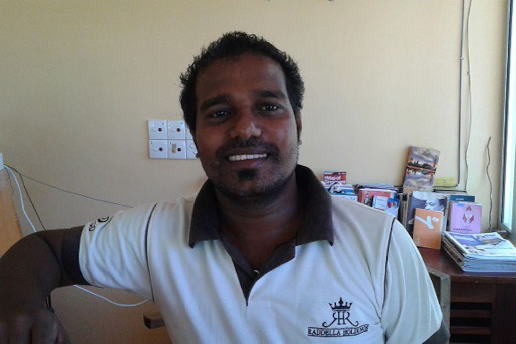 meet Vasanth the happy manager