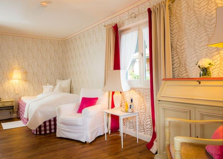 Einzelzimmer Superior @StGeorg.Tegernsee Hotel