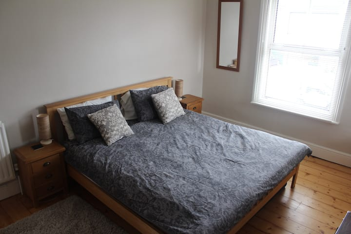 Large double room/dressing room/private bathroom