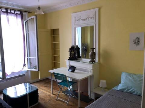 Jolie chambre Paris 14e arrondissement