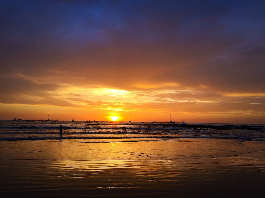 Tamarindo Beach Sunset.