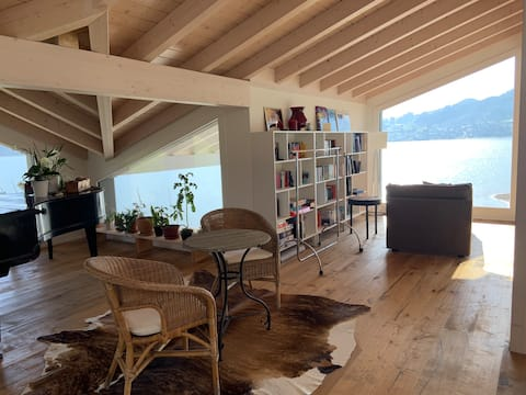 بيجو - غرفة الضيوف - على البحيرة
