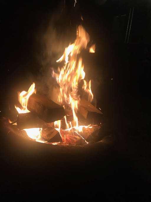Enjoy your night by the fire!