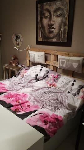 Joli chambre privée à louer. - Chambray-lès-Tours - Apartment