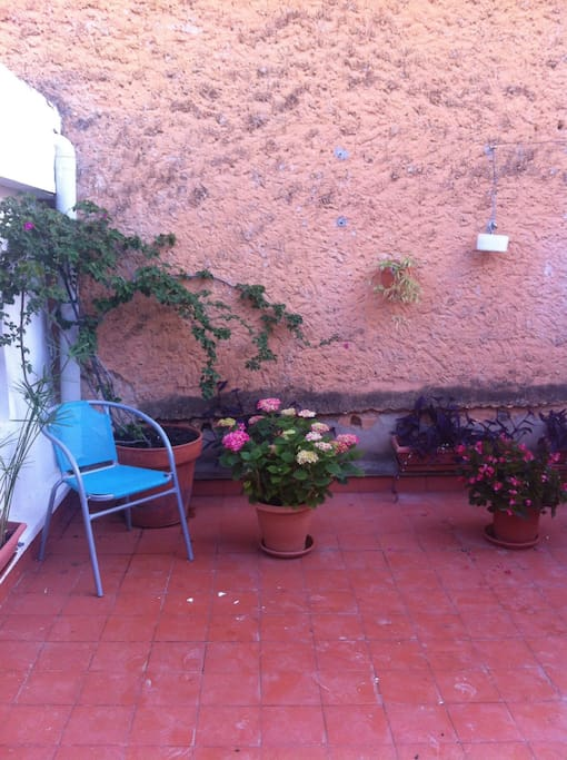 Terraza de 20 m2