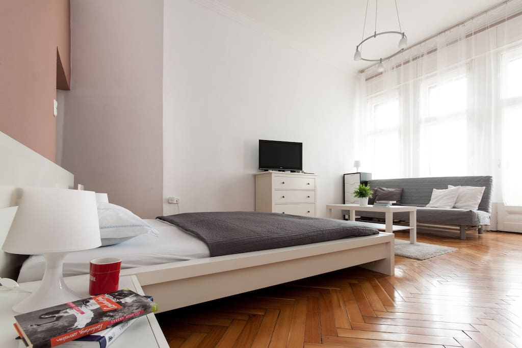 Downtown Studio for up to 4 persons