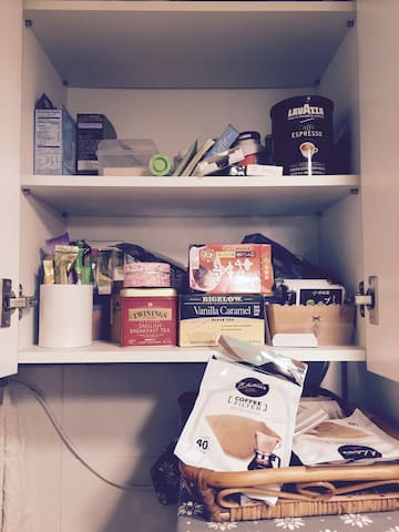 kitchen - tea and emergency medicine