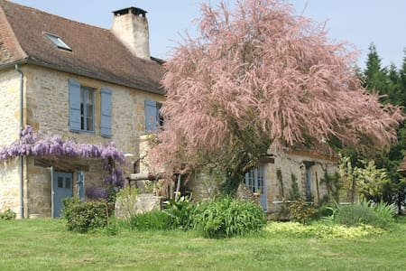 Country french cottage with a view  - Anlhiac