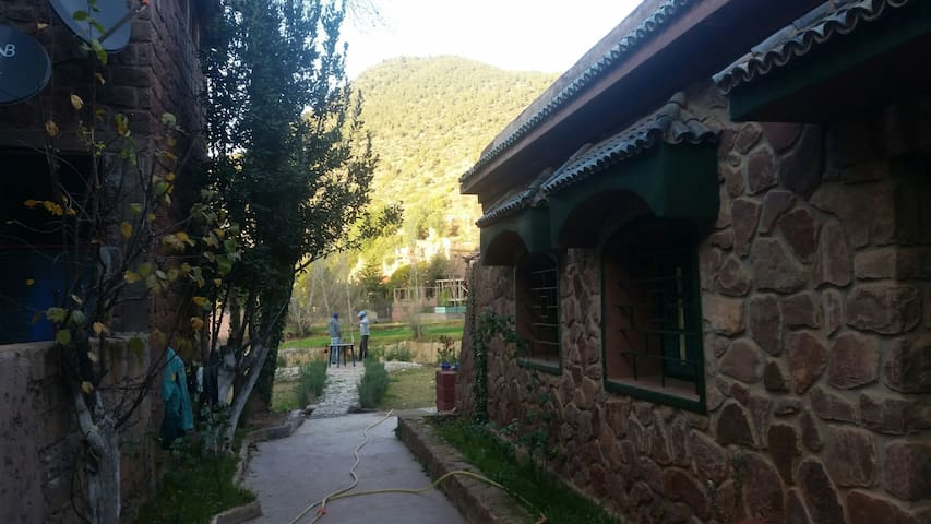 maison au coeur des montagnes - Ourika - Huis