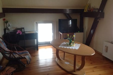Gemütliches schönes Zimmer... - Gumtow - 公寓