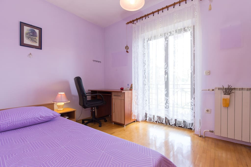 bedrooms are having chairs and working tables suitable for business trips and children