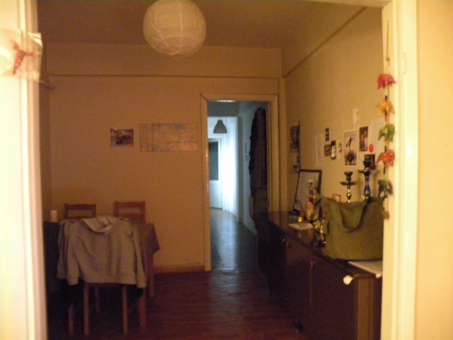 dining room/entry