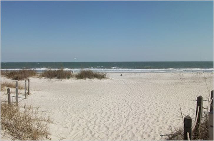 First Floor Beachside Villa - Hilton Head Island - Condominium