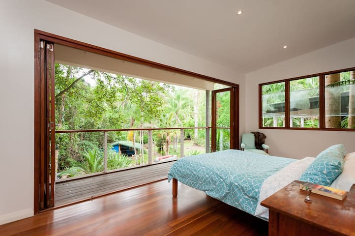 Private rainforest retreat with reach of beaches.