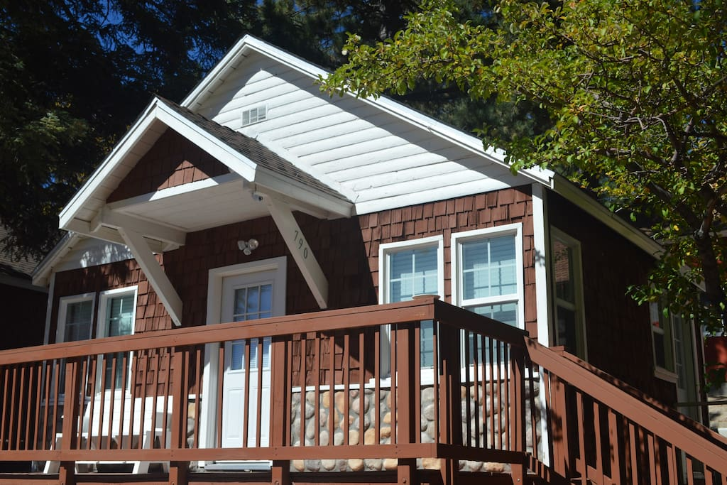 790 Tulip One Bedroom Cabin Right Off The Lake Cabins For Rent In Green Valley Lake