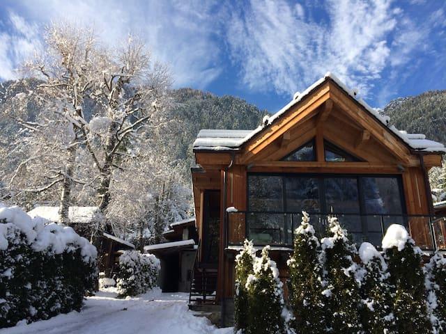 Mermille - View on the Mont-Blanc - Chamonix-Mont-Blanc - House