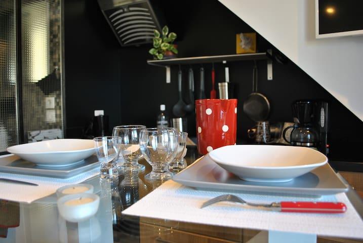 Studio Terrasse Vue Lac - Annecy - Apartment