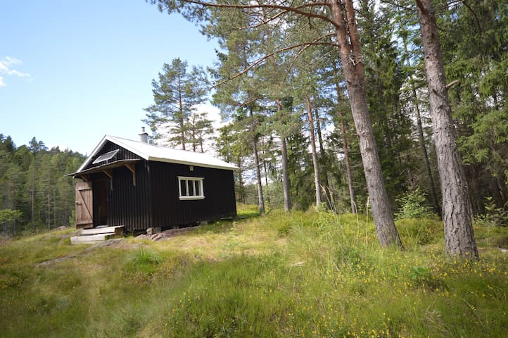 romantisk lite hytte