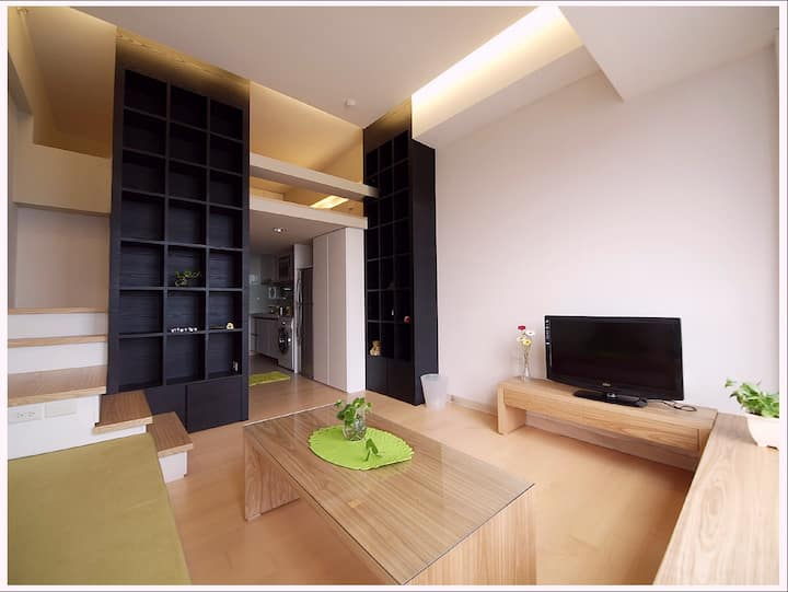Luxury Studio,24hrs security,near Taipei 101,MRT_5