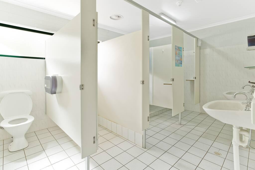 Seperate Male & Female Bathroom facilities.