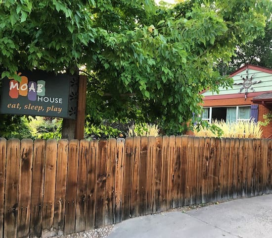 A Moab House, privacy in the heart of downtown