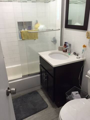 Newly renovated full bathroom