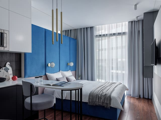 IQ-апартаменты в Москва-Сити in Blue