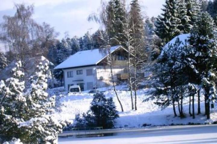 Ferienwohnung Am Skilift mit Seeblick (EG)