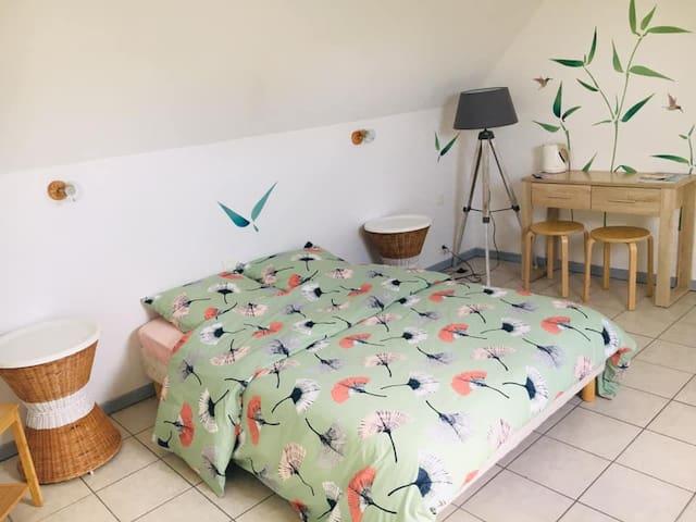 Chambre privée n°2 à Névez