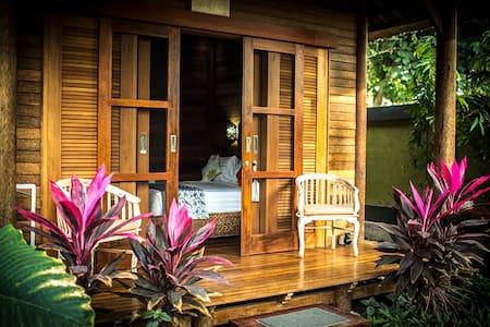 Private, lush tropical gardens, peaceful. - Nusapenida