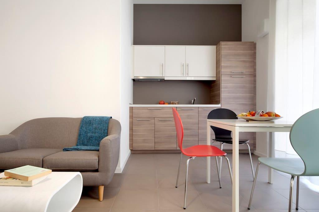 Design district apartment c appartamenti in affitto a for Milano design district