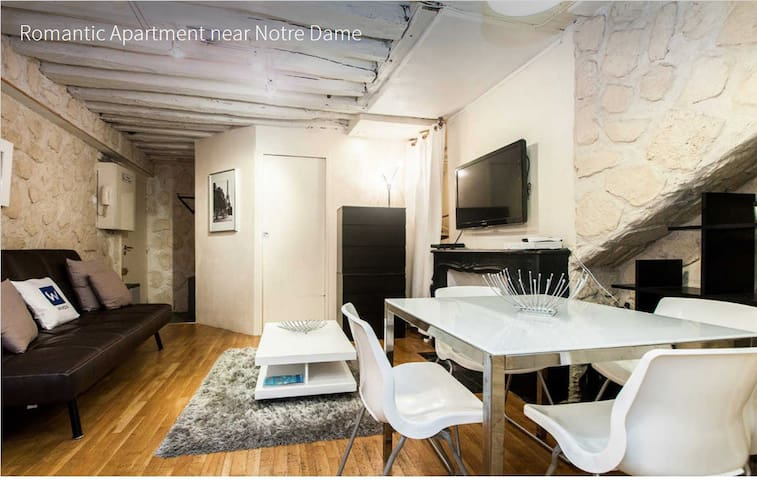 Quartier latin 1 chambre appartements louer paris for Chambre quartier latin