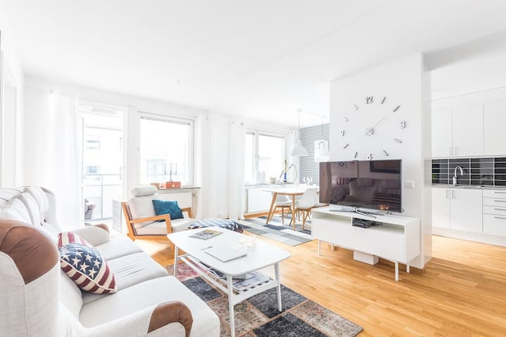 New production apartment of 60 sqm  in Kungsholmen