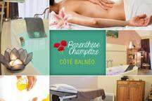 Côté balnéothérapie